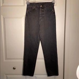 H&M denim Button Up Vintage Jeans size 24